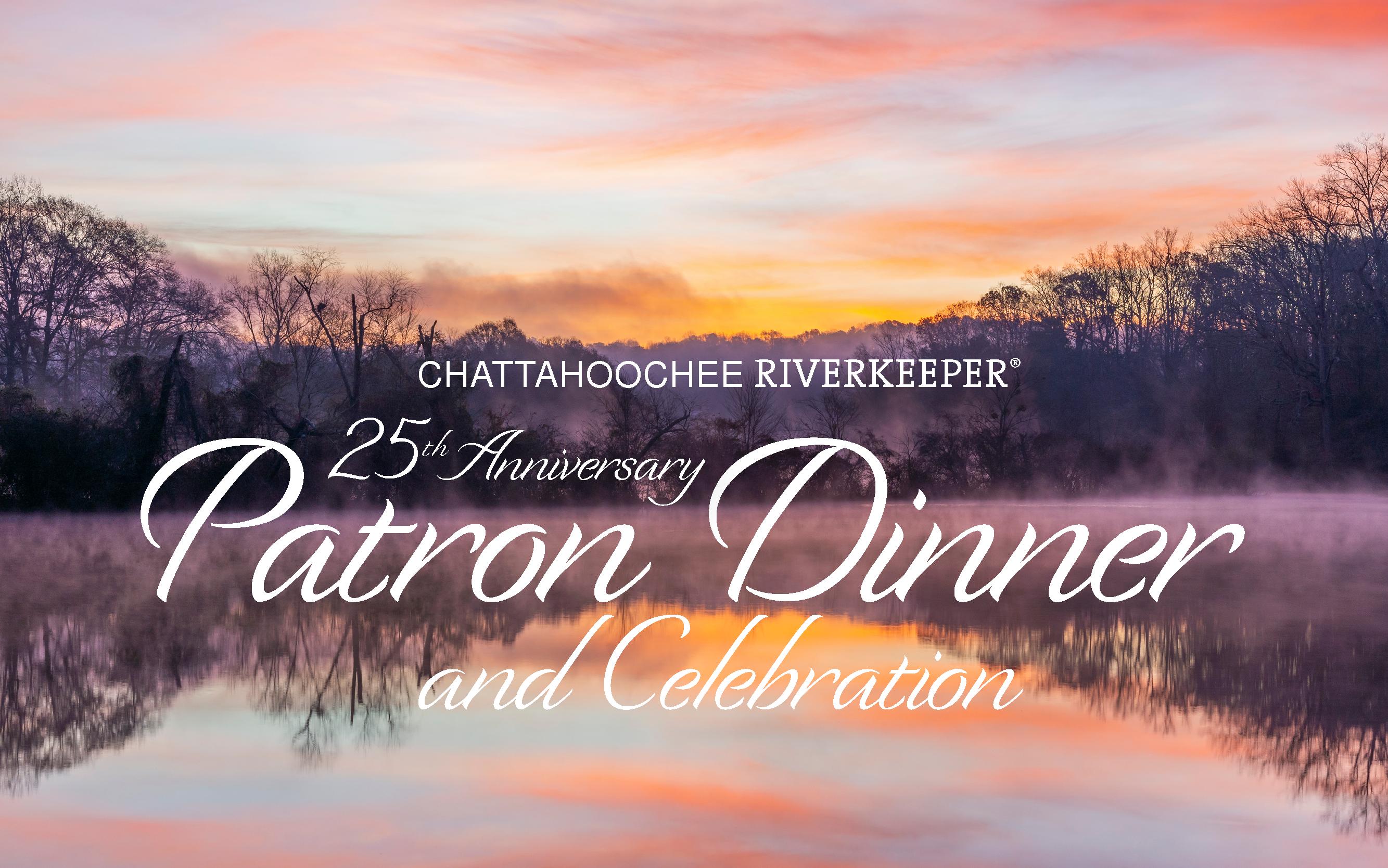 Patron Dinner – Chattahoochee Riverkeeper