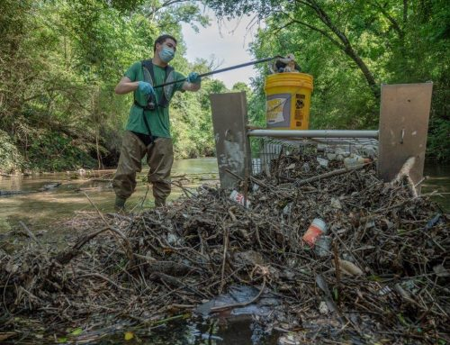 What do our trash traps really trap? Chattahoochee Riverkeeper takes a deep dive into the effectiveness of in-stream Litter Gitters